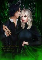 Snape and Emily by itaXita