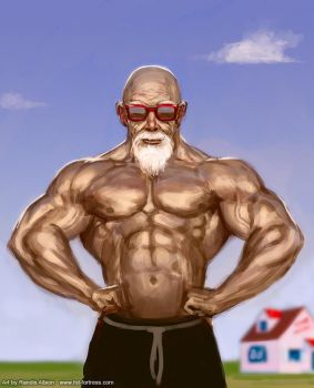 Master Roshi by randis
