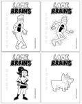 LAMEBRAINS-Zombie/Ghost ColoringPages by JK-Antwon