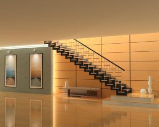 Staircase by AzureSol