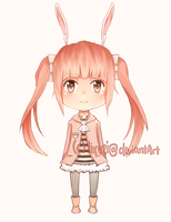 Bunny Adoptable - Point Auction [Closed] by lixuei