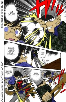Detective Conan Manga Chapter 4 Page 14 (Coloured) by Shuu-nii