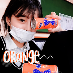 PSD  Orange  Coloring by CromwellXoxoLu