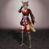 Dynasty Warriors 8 Lu Lingqi by ArmachamCorp