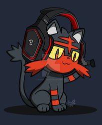 High-tech kitten by Haruka-Tavares