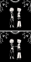 Kh Twins Lonely ( Blind Justice ) by malahayata