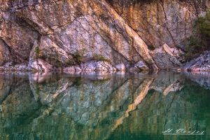 quarry Carriere Sille le Guillaume Sarthe France by hubert61