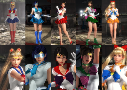 (RELEASE) SAILOR SENSHI PACK (REMAKE) by huchi001