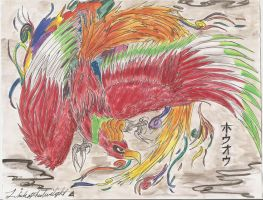 Ho-oh Protector of the Skies by SubwaymasterMegumi
