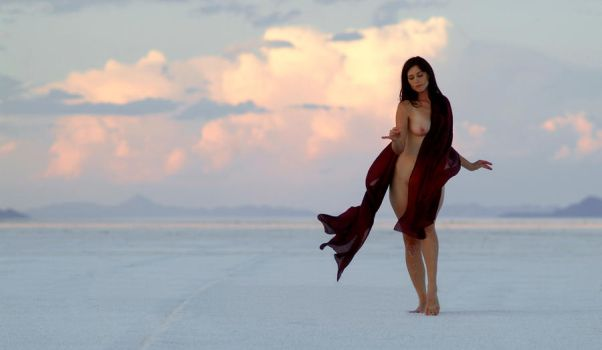 Dancing at Sunset by 3feathers