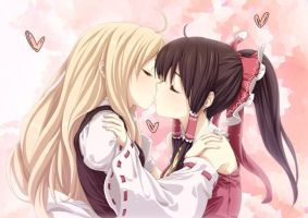 a kiss of love by girlkissgirl2