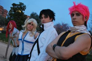 Fairy Tail Group by BlazeHikari