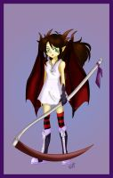 Demon girl design by Hotaru-oz