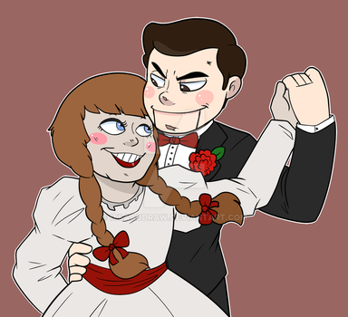 Annabelle x Slappy by itsaaudraw