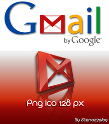 Gmail png ico by stenoz72