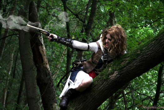Pirate assassin shooting from a tree by Megumiicosplay