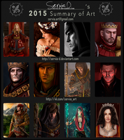 2015 Summary of Art by Servia-D