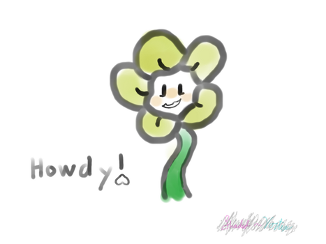 Quick Flowey by Shadened