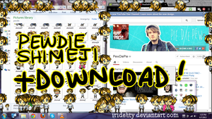 PEWDIEPIE SHIMEJI + DOWNLOAD by Zykodelic
