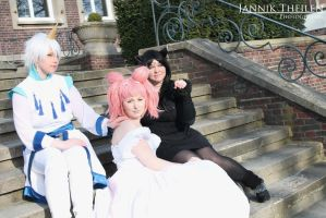 cosplay test of helios chibiusa and luna by Mistress-Mi