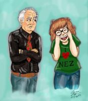 Me and Papa Nez by The-Girl-Who-Waited