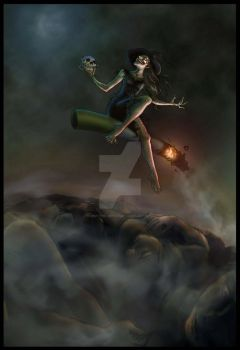 Smoke Witch Strikes by vivi-the-great