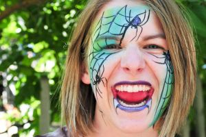 Scary Face Paint by MotherSarcastic