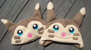 Blue-eyed Furret Hats