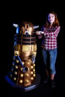 Dalek/Amy Pond - Dr Who by kn8e
