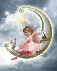 The Angel Printable by CindysArt