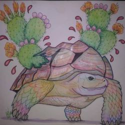 THE DESERT TORTOISE by x-ladylex-o