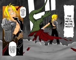 FMA Chapter 1 End Color by l3xxybaby
