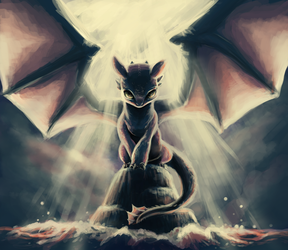 Toothless by Foxeaf