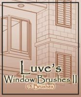 WindowBrushes II by Luvelia