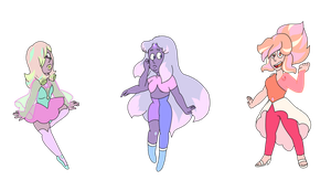 Rainbow Quartz Adoptables  (CLOSED) by popinat
