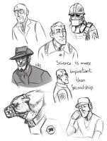 Monster Fortress sketches by Kessavel-art