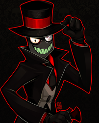 #Villainous: Black Hat by Netamikatze