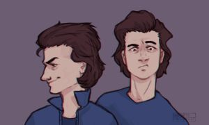 Steve Harrington by MoodyFirefly