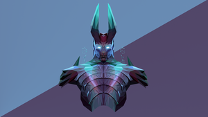 Terrorblade Dota 2 Low Poly Art by giftmones