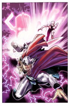 The Mighty Thor by Gabriel-Cassata