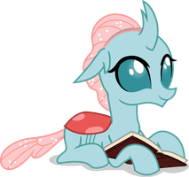 Ocellus with book by FrownFactory