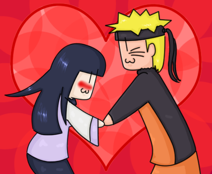 Happy Valentines - NaruHina by darkohana