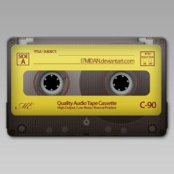 Audio Tape.PSD by i7midan