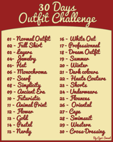 [30 days Outfit Challenge ] by CyciTheConqueror