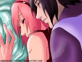 Sasusaku Falling Asleep With You by ambarnarutofrek1