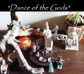 'Dance of the Gods' by RayvenOGiger