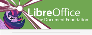LibreOffice 4.3 Twilight custom Splash Screen 2 by Marcsello