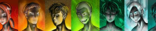 SnK Character Lineup! by NickyKitKat