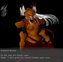 OC: Armored Maiden by PeterPrime