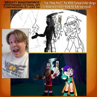 Mighty MagiSwords Storyboards - WDDF The Forest by artbylukeski